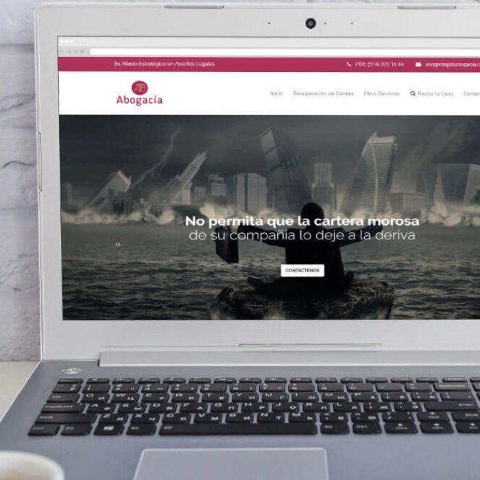 Página web de la Abogacía