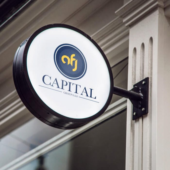 Diseño de Logo AFJ Capital Group