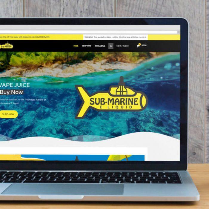 Página web de Vape Submarine